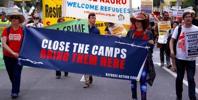 تظاهرات سراسری در استرالیا علیه سیاستهای ضد مهاجرتی دولت