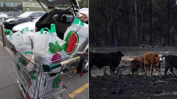 افزایش قیمت مواد غذایی در فروشگاههای استرالیا برای حمایت از کشاورزان