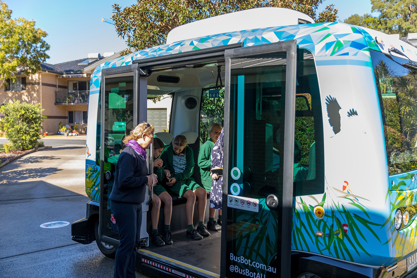 آغاز به کار اتوبوسهای بدون راننده در نیوساوت ولز