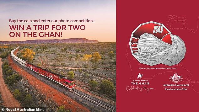 ضرب سکه 50 سنتی برای یادبود نودمین سال قطارهای افغان اکسپرس استرالیا