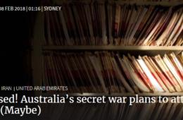 افشای توافق سری استرالیا و امارات برای حمله به ایران