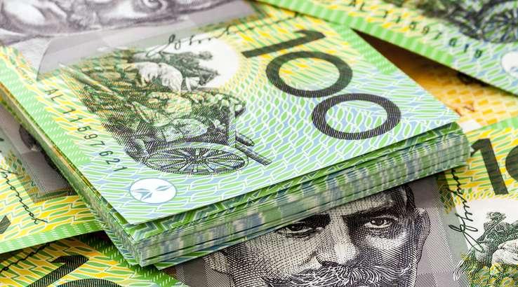 دلار استرالیا در پایین ترین سطح ۲.۵ اخیر خود ایستاد