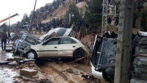 سیل در نقاط مختلف ایران دستکم ۱۹ کشته به جا گذاشت