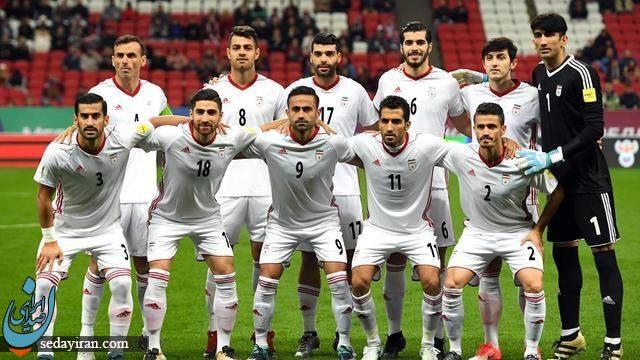 ایران همچنان بالاتر از استرالیا برترین تیم فوتبال آسیا