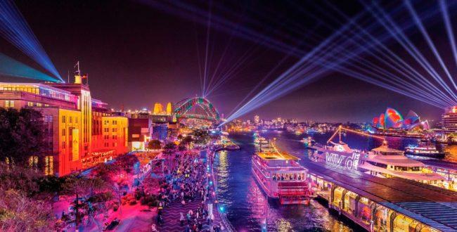 بزرگترین فستیوال نور و موسیقی استرالیا در سیدنی