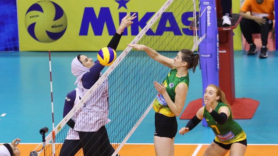 گزارش تصویری دیدار تیم ملی والیبال زنان ایران و استرالیا