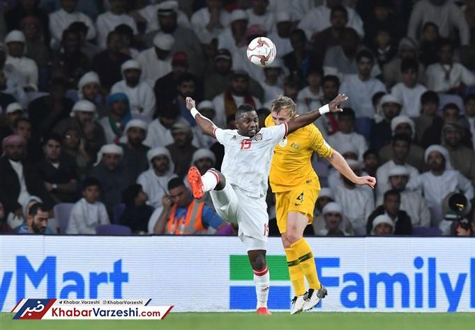 امارات با خوش شانسی استرالیا را کنار زد
