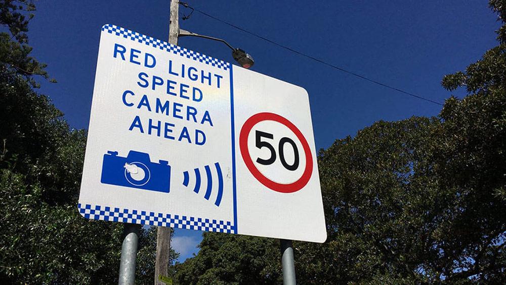 احتمال حذف علائم دوربین های کنترل سرعت در نیوساوت ولز