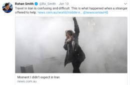 گزارش بسیار جالب خبرنگار استرالیایی از سفر به ایران
