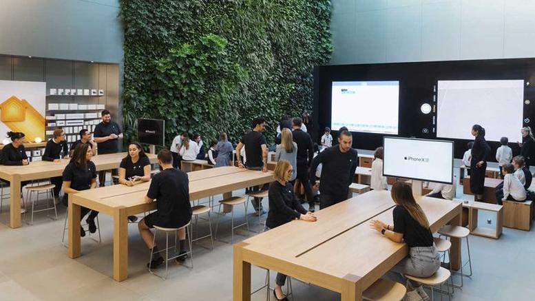 بازگشایی فروشگاههای اپل در استرالیا