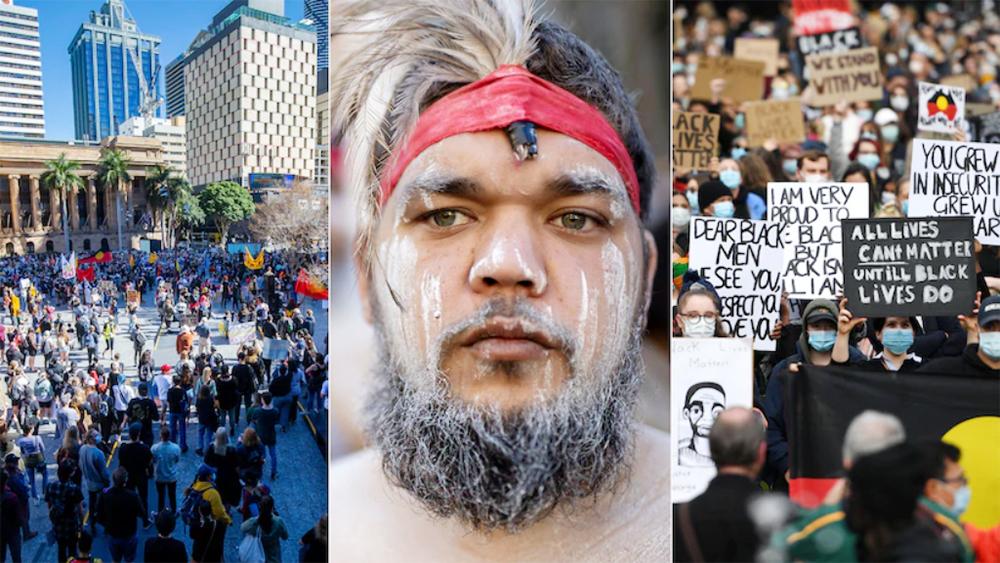 همدردی استراليايی ها با معترضان آمريكايی