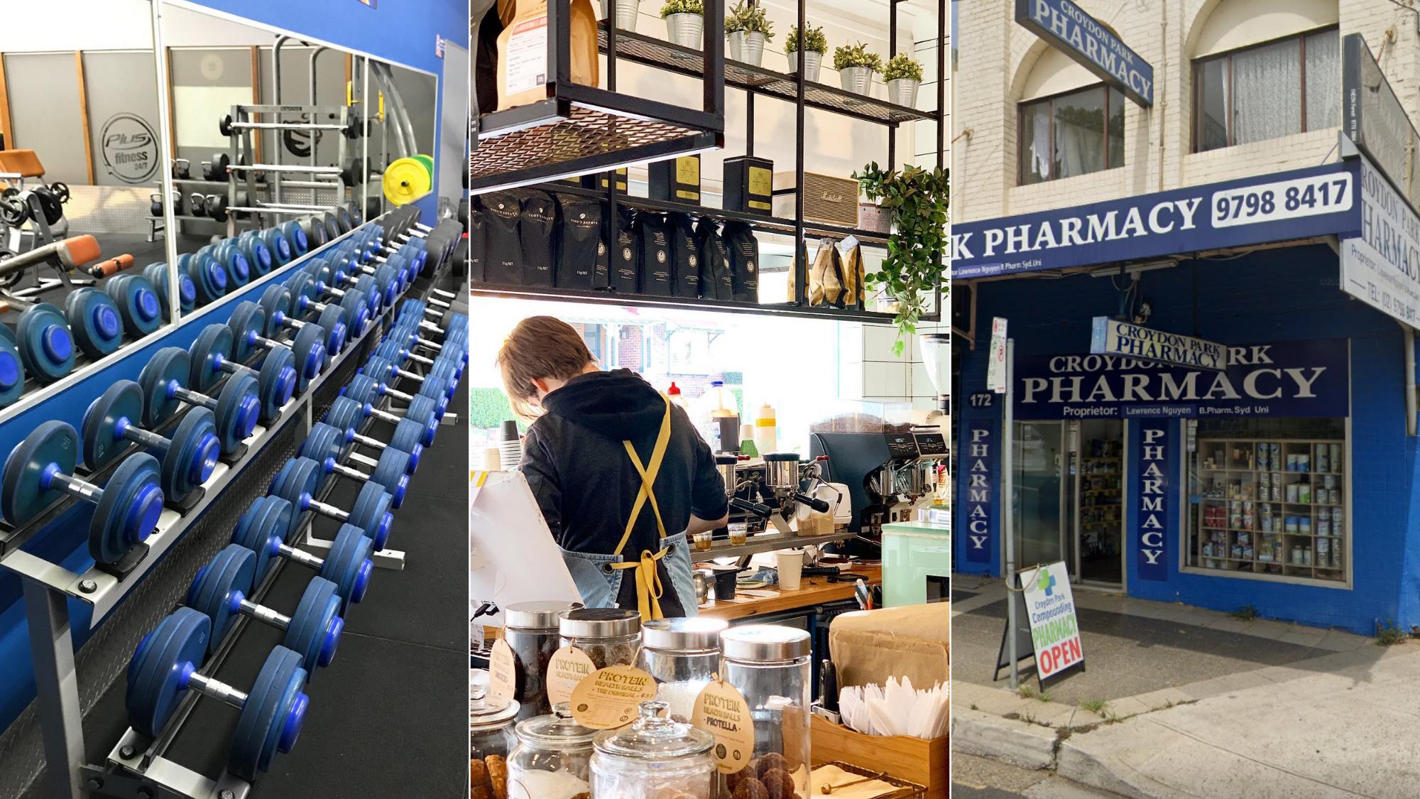 کافه، ورزشگاه و داروخانه در لیست جدید هشدار کووید- 19 در سیدنی