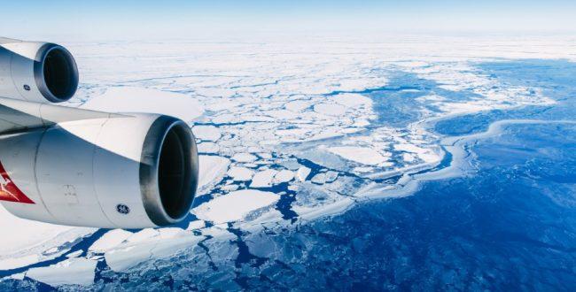 سفر تفریحی یک روزه از استرالیا به قطب جنوب
