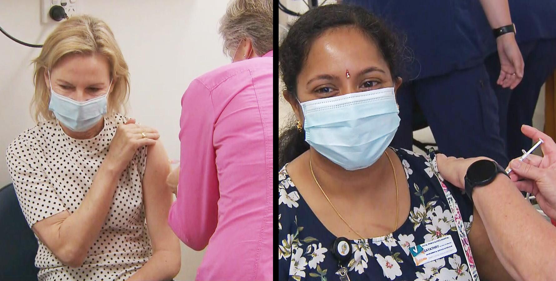 برنامه واکسیناسیون کرونا در استرالیا آغاز شد