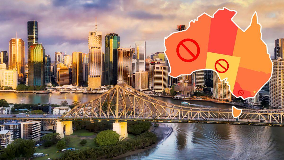 واکنش ایالات و نواحی استرالیا به شیوع کرونا در کوئینزلند