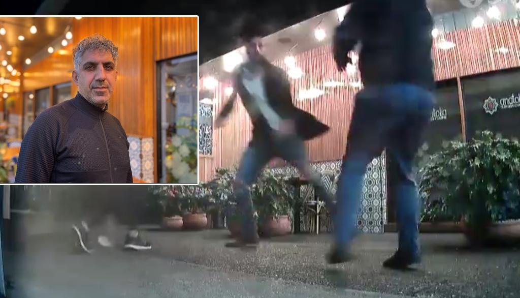 حمله زوج قانونگریز به رستوراندار ایرانی