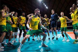 پیروزی تیم ملی والیبال استرالیا مقابل ایران