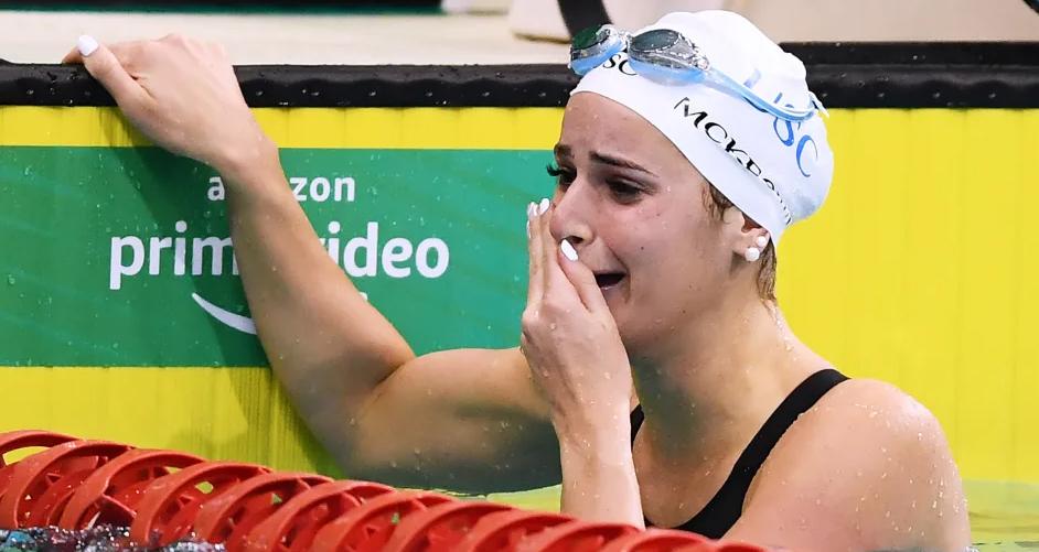 شناگر استرالیایی رکورد کرال پشت صد متر جهان را شکست