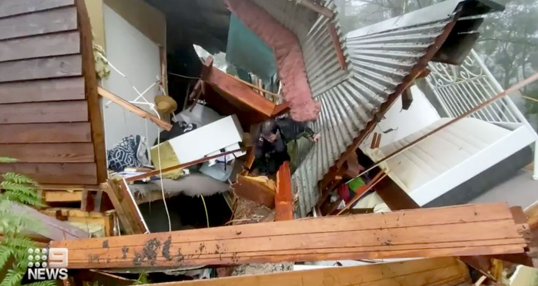 توفان برق صدهاهزار ویکتوریایی را قطع کرد