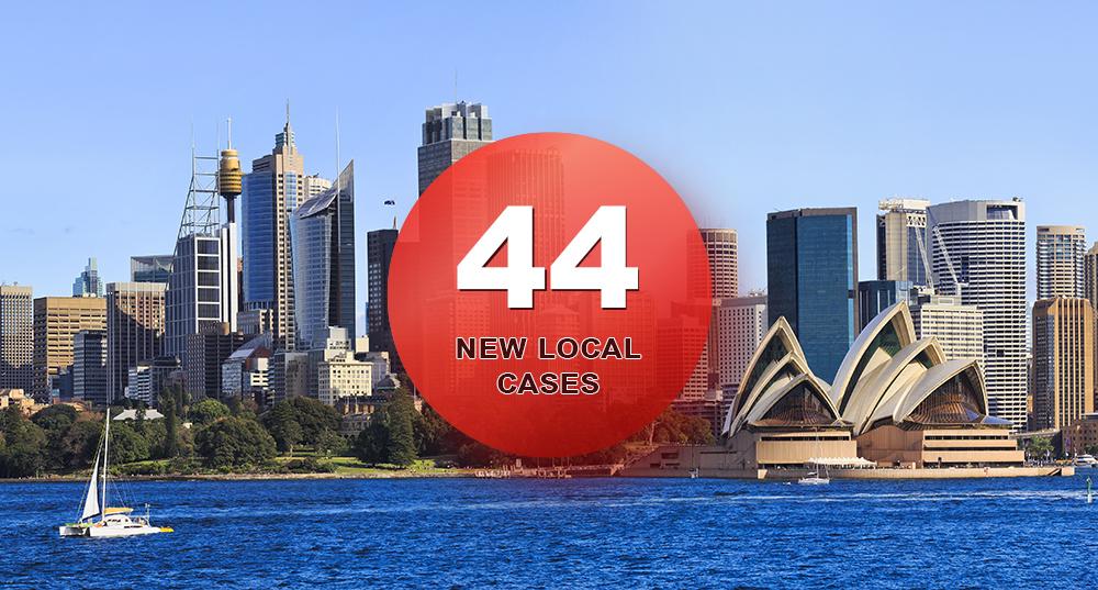 شناسایی 44 مبتلا و اعمال محدودیتهای بیشتر در سیدنی؛ پلیس وارد عمل شد