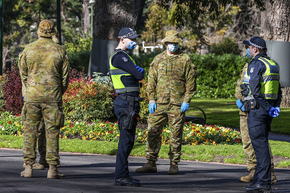 ارتش وارد خیابانهای سیدنی شد
