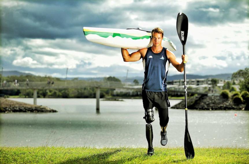 قهرمان پارالمپیک استرالیا: ارزشش را داشت پاهایم را در افغانستان از دست بدهم؟