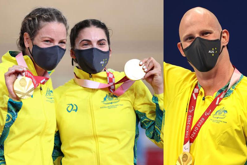 تصاحب صدر جدول مدالها؛ استرالیاییها در نخستین روز پارالمپیک توکیو درخشیدند