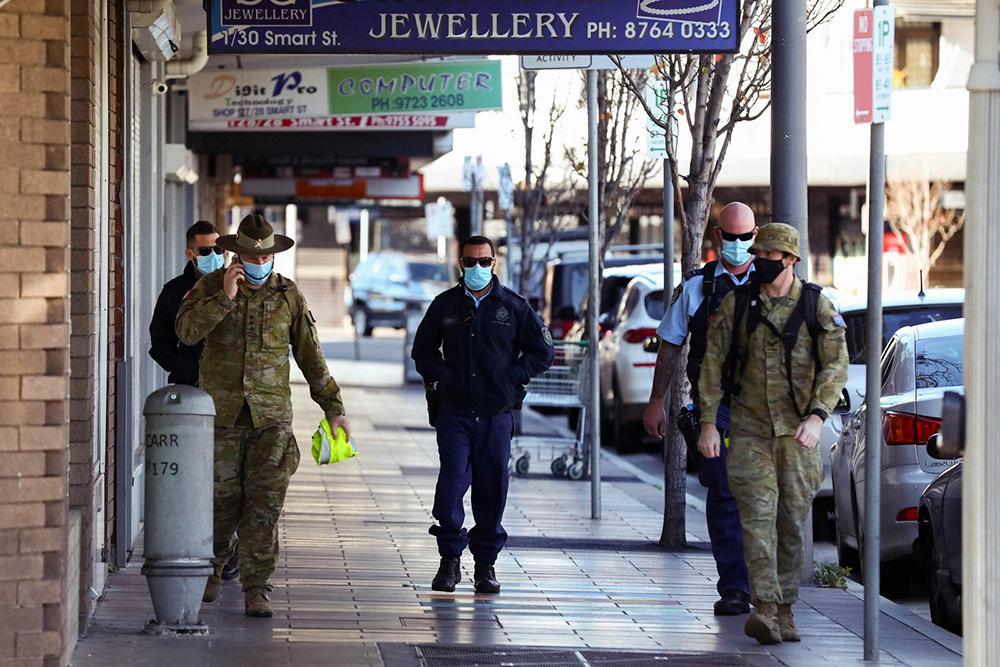 جریمه 579 شهروند سیدنی؛ آنها در خانه نمیمانند