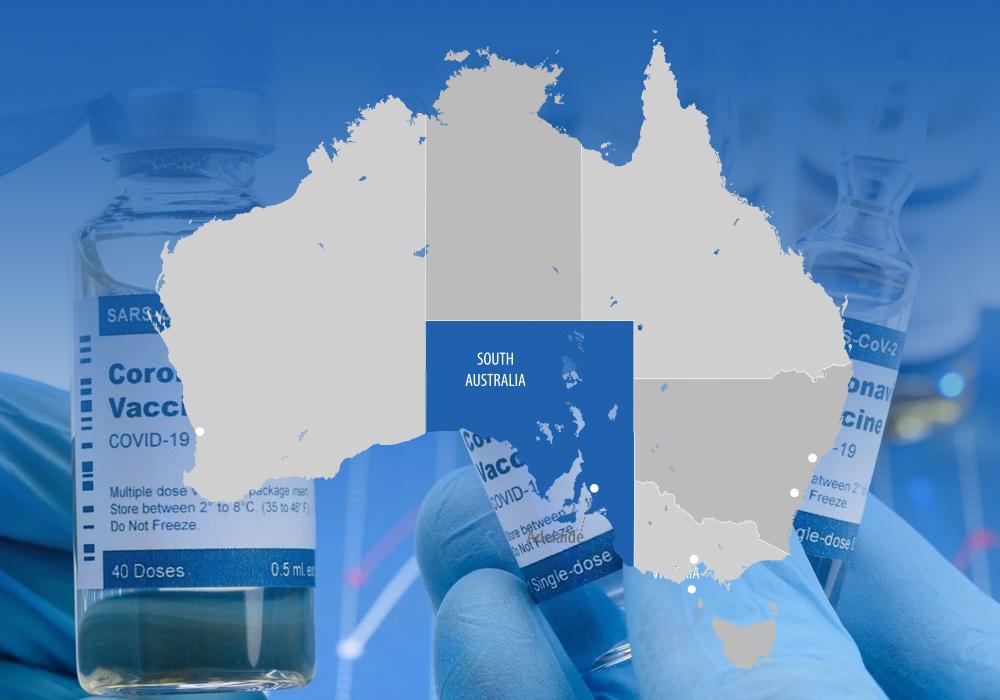 استرالیای جنوبی به افراد بالای 16 سال واکسن فایزر و آسترازنکا پیشنهاد میکند
