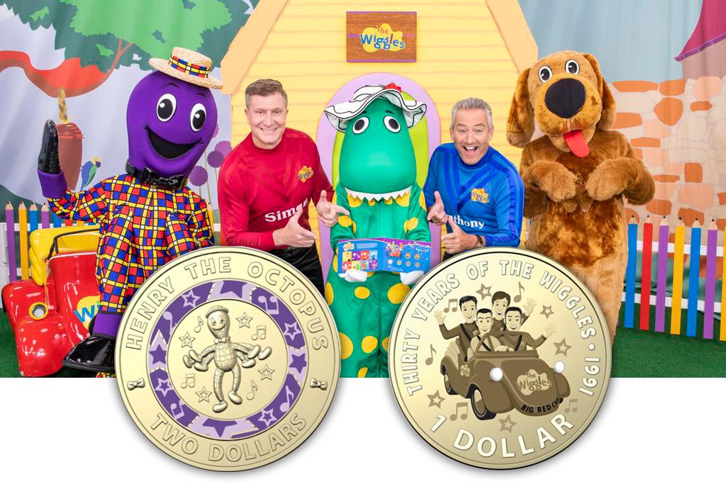 انتشار 4 سکه کلکسیونی به مناسبت سیامین سالگرد شکل گیری ویگلز