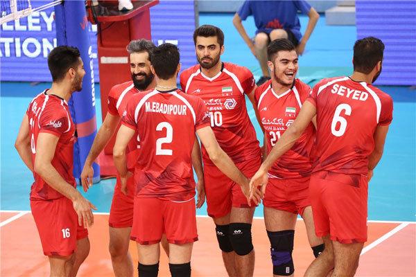 برد پسران ایرانی مقابل استرالیا در لیگ ملتهای والیبال