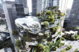 طرح های برگزیده برای بلندترین برج استرالیا