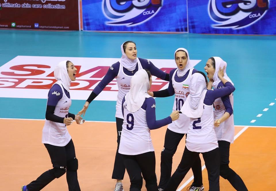 والیبال زنان ایران از سداسترالیاهم گذشت