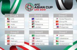 ایران و استرالیا حریفان خود را در جام ملت های آسیا شناختند