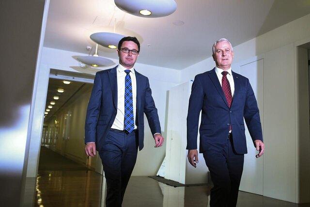 مایکل مککورماک در انتخابات درون حزبی، رهبر حزب نشنال باقی ماند