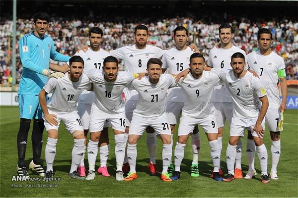 ایران با پیشی گرفتن از استرالیا برترین تیم آسیا شد