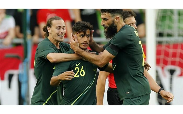 پیروزی استرالیا با گلزنی دانیل ارزانی