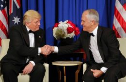 ترامپ با نخست وزیر استرالیا دیدار میکند