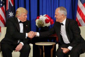 ترامپ با نخست وزیر استرالیا دیدار می کند