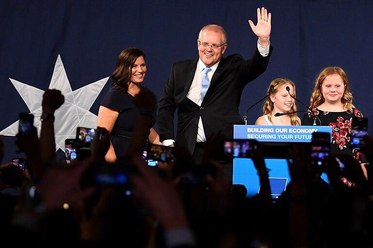 اسکات موریسون پس از پیروزی در انتخابات: همیشه به معجزه اعتقاد داشتم