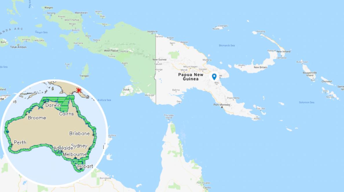 زلزله قدرتمند پاپوا گینه نو استرالیا را هم را لرزاند