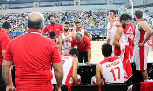 گزارش تصویری مسابقه بسکتبال ایران استرالیا