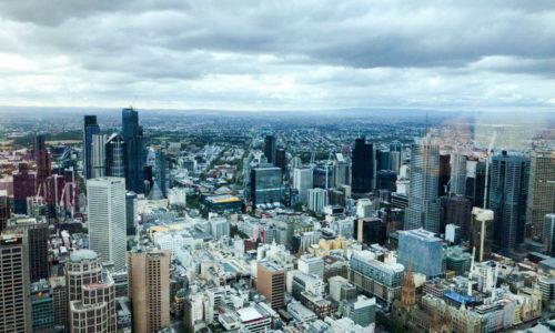 ملبورن از فراز یورکا دومین برج بلند استرالیا