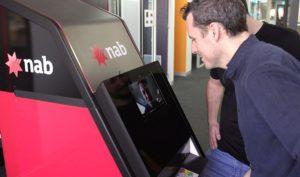 طراحی خودپردازی در استرالیا که با تشخیص چهره کار میکند