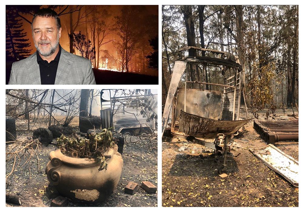 ساختمان های گلادیاتور در آتش سوزی شرق استرالیا سوخت