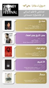 حضور قوی سینماگران ایرانی در جشنواره سیدنی
