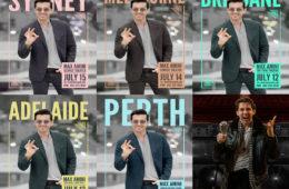 بازگشت مکس امینی کمدین سرشناس ایرانی به استرالیا