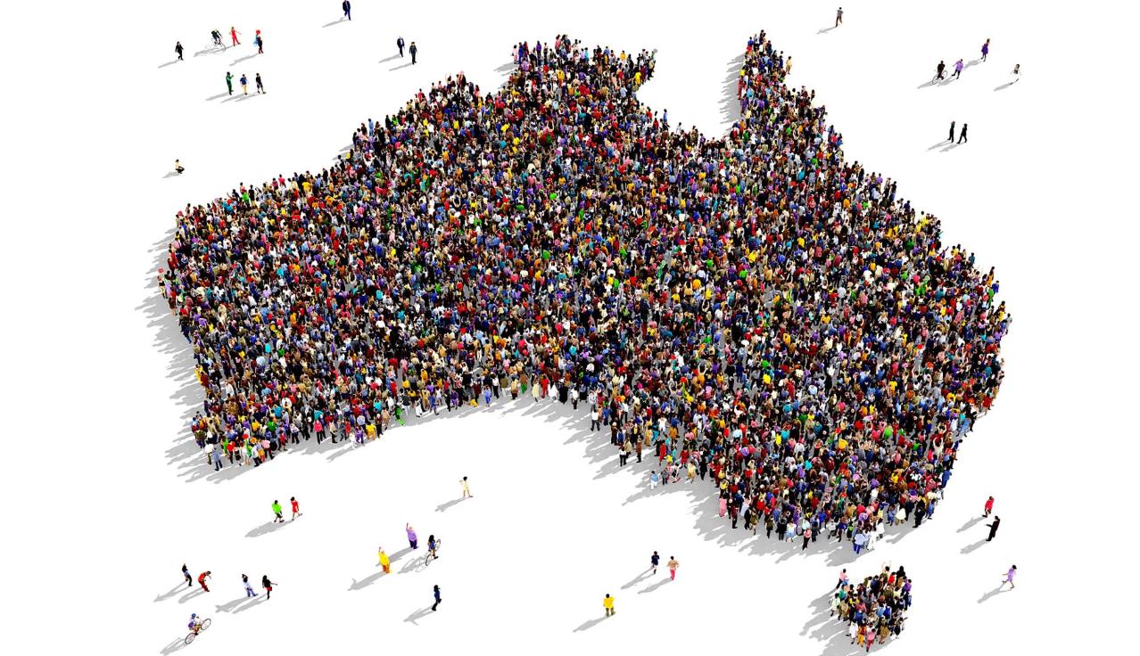 جمعیت استرالیا 25 میلیون نفری شد