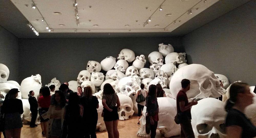 تصاویری از نمایشگاه سه سالانه ملبورن