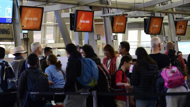 اعتصاب سراسری در فرودگاههای استرالیا